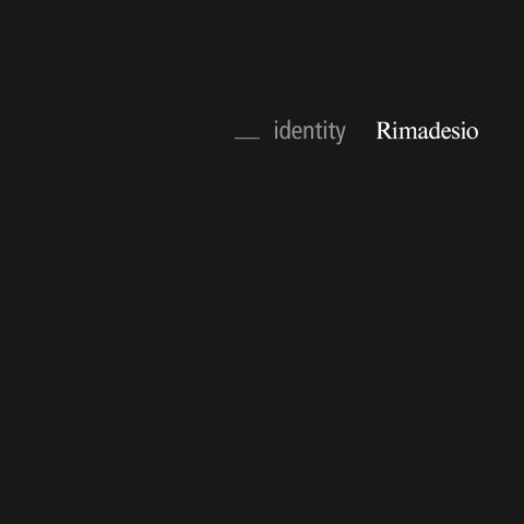 Rimadesio Corporate Identity 2017