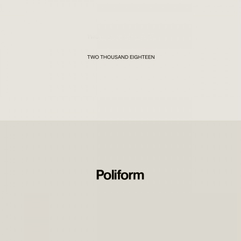 Poliform Magazine 2018