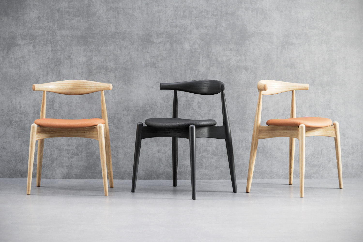Chairs 3d render
